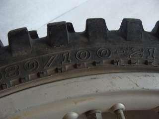1983 Honda XR500R XR500 Front Wheel Tire Rim   Image 03