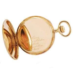 ORIGINAL ULYSSE NARDIN HEAVY BIG 18K SOLID GOLD OPEN FACE POCKET WATCH