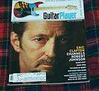 GUITAR PLAYER MAG JULY 1985 Cover ERIC CLAPTON