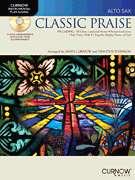 Classic Praise Alto Sax Saxophone Sheet Music Book & CD