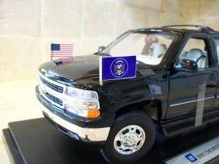 RARE 1/18 1/43 Chevy Suburban Presidential Ed Police Ut Secret Service