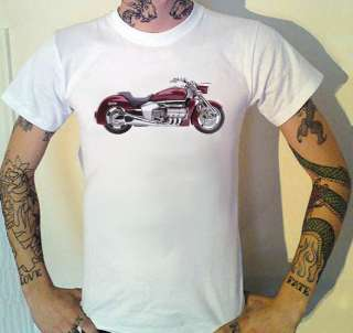 Honda Valkryie Rune Motorcycle Photo T Shirt Biker (9 Sizes)