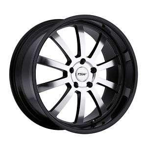 19 TSW WILLOW BLACK RIMS WHEELS AUDI A3 A4 QUATTRO S4
