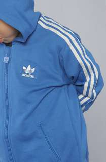 adidas The Hooded Flock Tracksuit in Bluebird White  Karmaloop