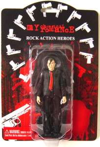 MY CHEMICAL ROMANCE FRANK IERO LIMITED ED ACTION FIGURE