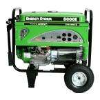 8000W Energy Storm Portable Generator, Wheel Kit, Electric Start, 15HP