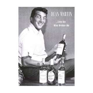 Dean Martin little ole wine drinker me / Poster  Küche