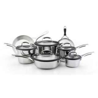 Gourmet 12 Piece Stainless Steel Cookware Set 75657