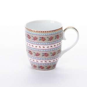 Pip Studio Tasse Ribbon Rose, khaki  Becher  Kaffeetasse