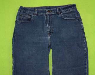 Style & Co sz 10 x 30 Womens Blue Jeans Denim Pants Stretch GH52