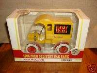 1905 FORD DELIVERY CAR BANK, NEW HOLLAND, ERTL