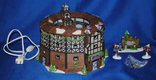Dept 56 Globe Theater~Dickens Village~Christmas~RARE