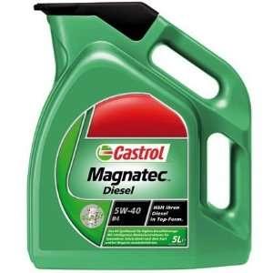 Motoröl Castrol Magnatec Diesel 5W 40 DPF, 5 Liter OPEL AUDI (OPA