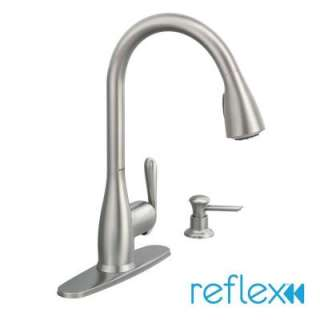 moen legend single handle kitchen faucet in chrome 7300 at