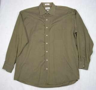LOUIS ROTH Mens Long Sleeve Dress Shirt 18 36/37