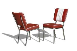 USA Bel Air Diner Möbel Dinerbank 2x Dinerbänke + Tisch 50er Jahre