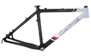 Carbon Hardtail MTB Rahmen CAPIC Elixir SLR carbon white Größe 48,3