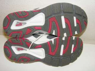 White Pink Grey Womens 7.5 Running Training Shoes Excellent