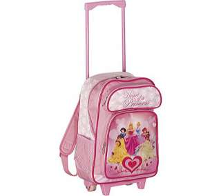 Disney by Heys 17 Heart of A Princess Rolling Backpack   Free