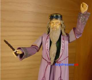 HARRY POTTER Albus Dumbledore Poseable Action Figure!