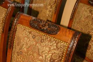 Upholstered Dining Room Chairs, Custom Finish, High End