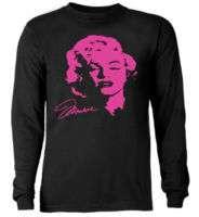 Marilyn Monroe Neon shirt * Long Sleeve T shirt *