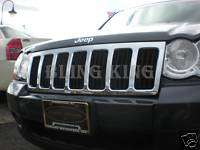 08 09 2010 Jeep Grand Cherokee chrome Grille insert kit