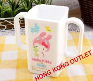 Hello Kitty Bunny Kid Child Baby Juice Box Drink Bottle Cup Holder