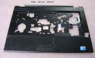 Dell Latitude E6410 Palmrest Touchpad DPN 2X11P 02X119