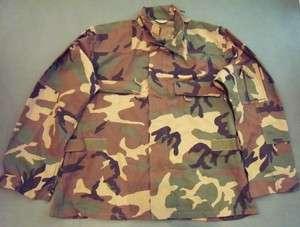 US Military Army Issue Woodland BDU Aircrew Combat Uniform Jacket M/R