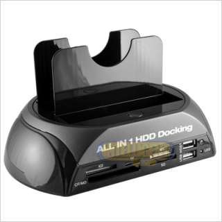 TWIN IDE SATA HDD HARD DRIVE DISK DOCK DOCKING STATION