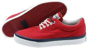 MENS CONVERSE TRAINERS OX PUMPS CANVAS RED NAVY SHOES