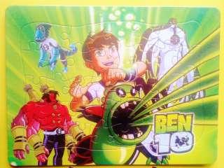 BEN 10 JIGSAW PUZZLES 40 PIECES NEW