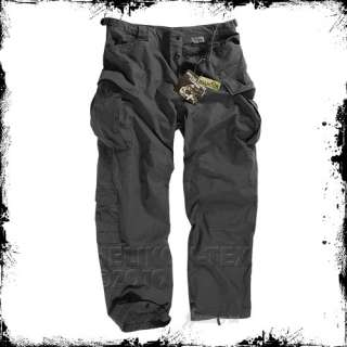 COMBAT TROUSERS TACTICAL SECURITY HELIKON NYCO TWILL BLACK : XS XXL