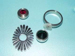 Edelstahl Ring mit Gewinde zum selber Gestalten (04) in Bayern