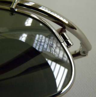 RAY BAN INERTIA SILVER SILVER MIRROR W2394 NEW OLD STOCK VINTAGE
