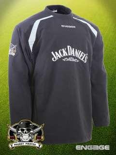 Phuket Pirates 7s Rugby Shirt Sponsord by Jack Daniels ( AWAY