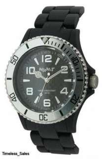 Neon T Unisex Black Dial Quartz Watch Ne40/A