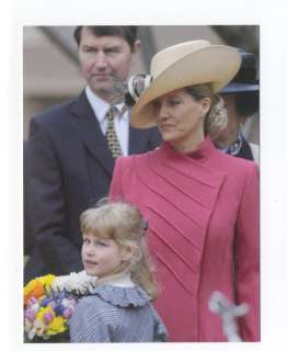 p9817   Countess Sophie Wessex & daughter Lady Louise Windsor