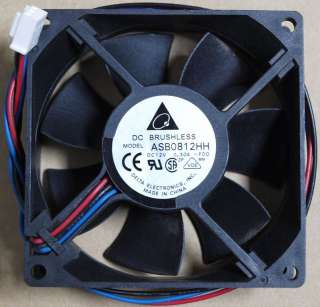 DELTA ELECTRONICS DC BRUSHLESS FAN PN ASB0812HH