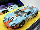 Scalextric 1/32 Slot Car 1969 Ford GT40 Sport Ed.#6 GUL