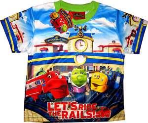 CHUGGINGTON Baby Boy Clothes T Shirt Top Size 1 Age 1 2