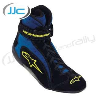 Alpinestars F1 K Kart Boots Size UK 7 EU 40.5 In Black / Blue Race