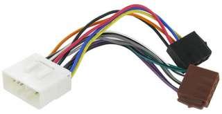 Subaru Forester CD radio stereo wiring harness adapter lead loom ISO