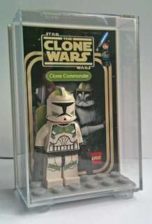 LEGO Star Wars CLONE COMMANDER In Custom Display Case