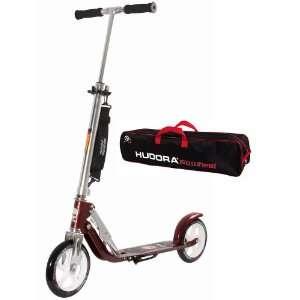 Hudora Scooter Roller Cityroller Big Wheel MC 205 OUTBREAKE METALLIC