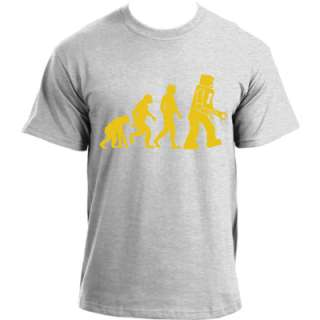 The Big Bang Theory Sheldon Robot Evolution T Shirt