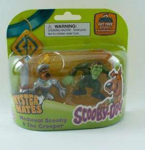 SCOOBY DOO MYSTERY MATES FIGURES Medieval THE CREEPER