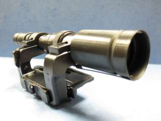 WWII 98 Mauser ZF41 Rifle Scope & Mount Reproduction