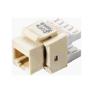 Ivory CAT5e Keystone Jack   10 Pack: Electronics
